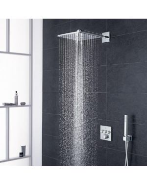 Grohe Grohtherm SmartControl Duschsystem mit Thermostat & Rainshower 310 SmartActive Cube Kopfbrause