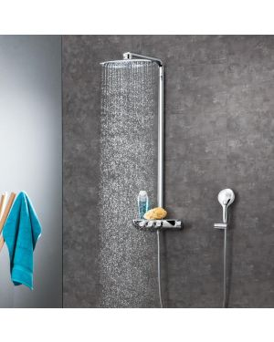 Grohe Rainshower System SmartControl 360 DUO Duschsystem mit Thermostatbatterie chrom