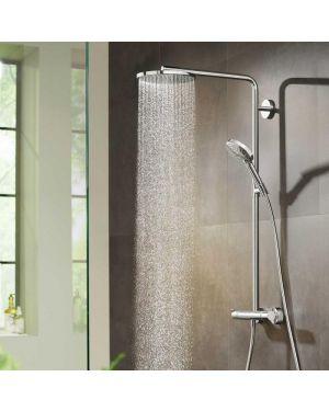 Hansgrohe Raindance Select S Showerpipe 240 1jet PowderRain mit Thermostat chrom